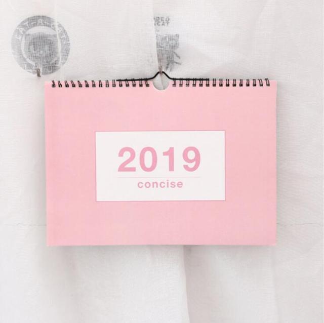 2019 Year Multifunction Wall Calendar Weekly Planner Monthly Agenda