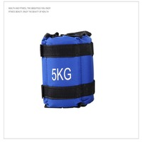Pratical 5kg Adjustable Ankle Wrap Weights Gym Wrist Equipment Fitness Accessories