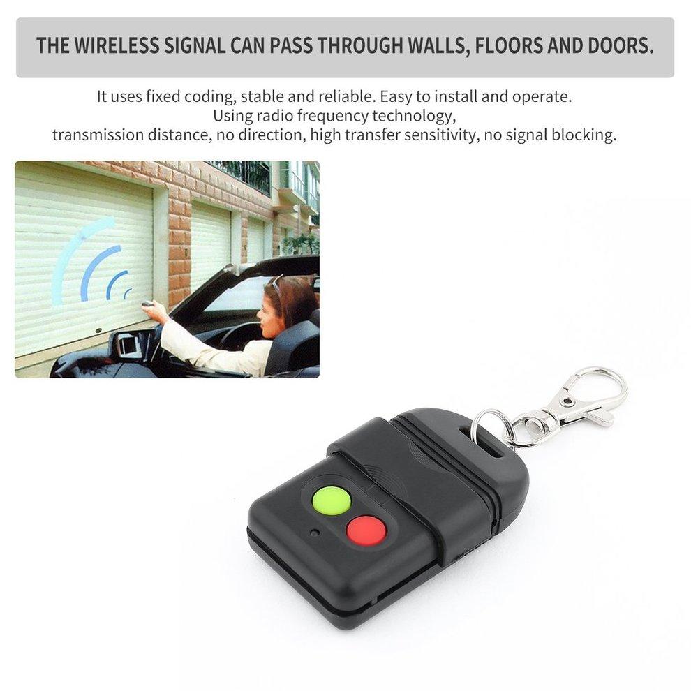 10 pcs Sans Fil Auto Copie Télécommande Duplicateur 330 mhz Face à Face Copie Vie Privée Garage Portes Clé Auto Porte portes Clé