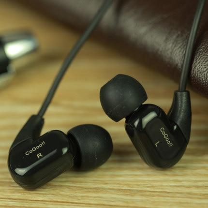 100% Original Cogoo T02 3.5mm Sports In-Ear dj Earphone Bass noise isolating sport earphones Used for iPhone Xiaomi Samsung MP3 new genuine original pocked dj earphones for dell digital jukebox product pda mp3 earphones
