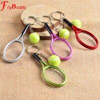 tennis sleutelhanger