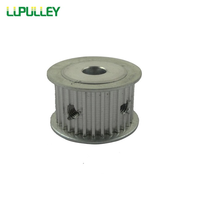 LUPULLEY HTD 3M Timimng Pulley 28T Bore 5/6/6.35/8/10/12/14/15mm Belt Width 16mm Synchronous Motor Wheel 1PC Aluminum  Alloy
