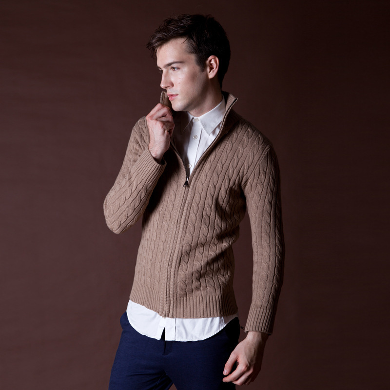 Online Buy Wholesale winter cardigan sweater men from China winter ...