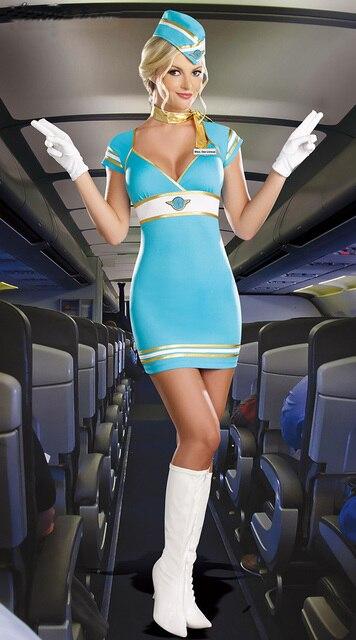 Sexy hostess Hot air