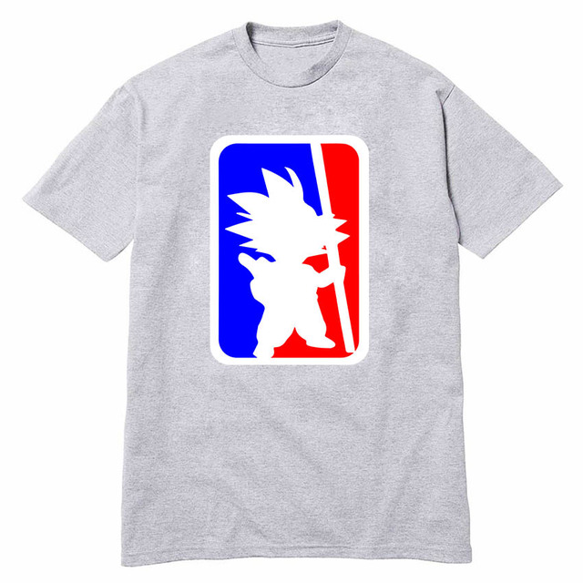 USA print Son Goku Fun Dragon Ball Z T Shirts