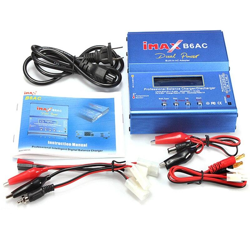 Best Дело IMAX B6-AC B6AC Липо NiMH 3 S RC Батарея баланс Зарядное устройство для RC Игрушечные лошадки модели