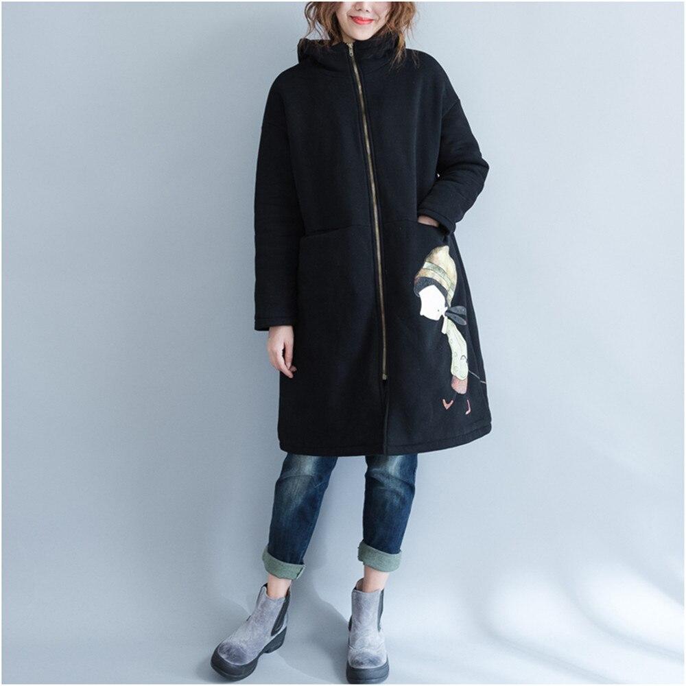 Printing Zipper Pregnancy Hooded Sweater Maternity Coat Women Hoodie Outerwear Coat For Pregnant Women Autumn Winter Hoodies