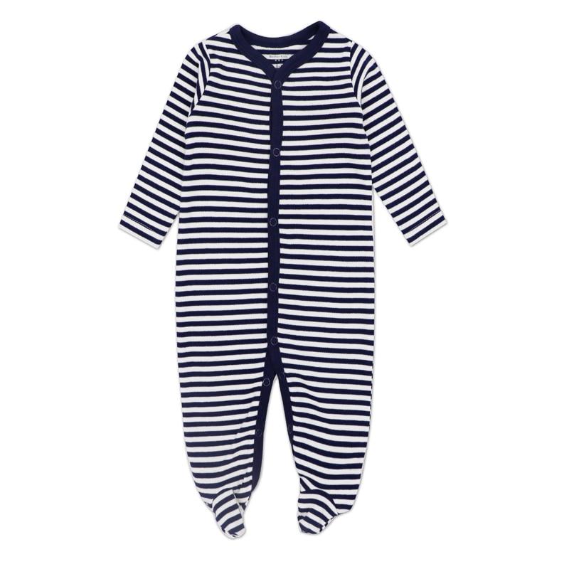 UnermüDlich New Born Jumpsuit Carter Baby Junge Mädchen Kleidung Langarm Baumwolle 0-12 Monate Kleinkind Kleidung GroßE Sorten