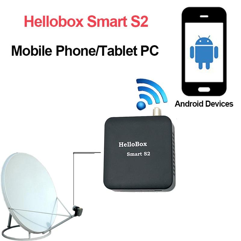 Hellobox Smart S2 Sat Finder  Satellite Receiver  Support  Mobile Phone/Tablet TV Receiver DVB Play FINDER Receptor