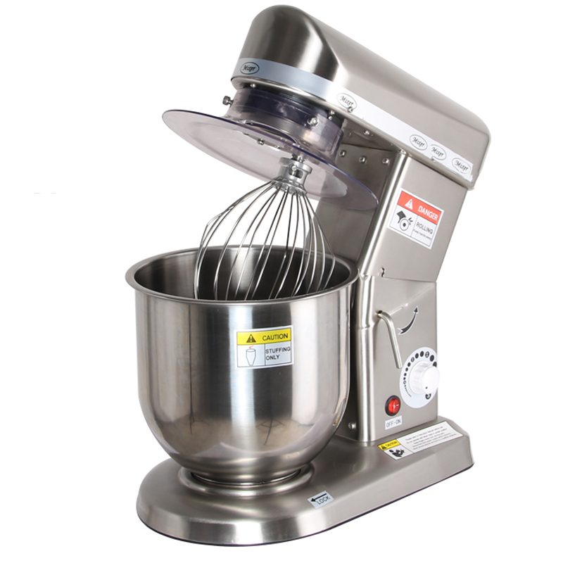 7L High Quality Commercial Planetary Mixer, Food Stand Mixer, Egg Beater, Dough Mixer средство для чистки плит духовок и грилей topperr 3405