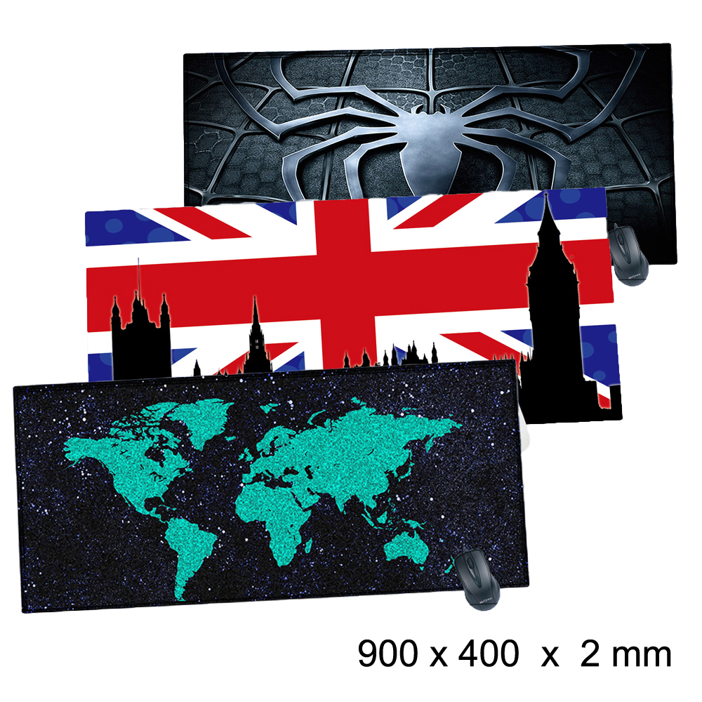 Viviration New Rubber Soft Locked Edge Mousepad Mat Pad Cool Mats For Trackball Laser Optical Mice Mouse For Desk Keyboard Hot