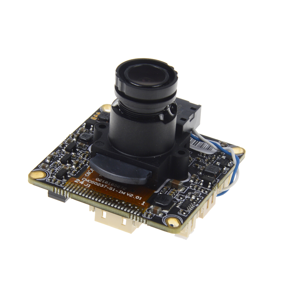 Mini IP Camera H.265 3MP 2048*1536 / 2MP 1920*1080P HI3516D Processor IP Camera ONVIF CCTV Camera Board With Free Cable wavelets processor