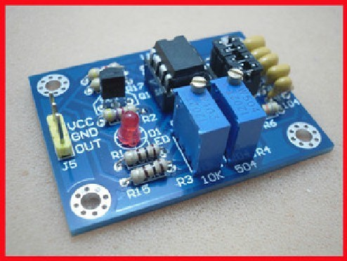 Freeshipping NE555 pulse module LM358 duty cycle and frequency adjustable module respectively exerpeutic lx905 training cycle with computer and heart pulse sensors