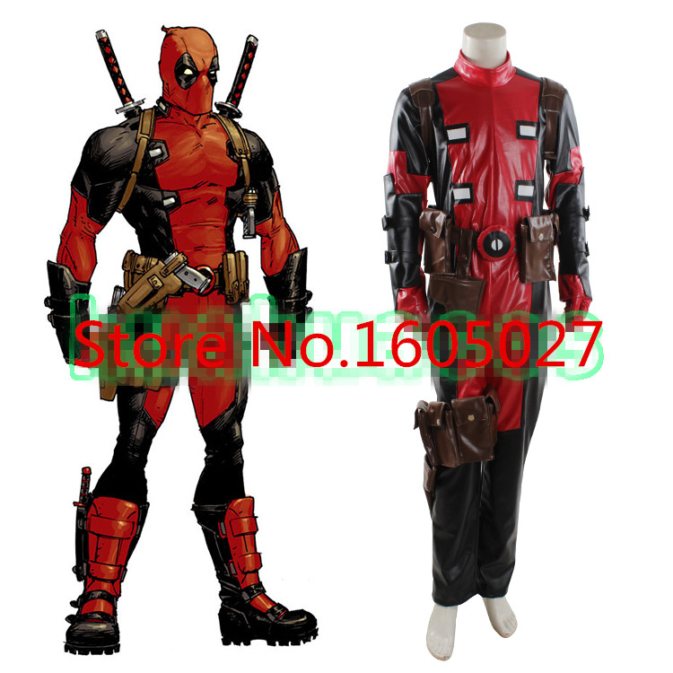 how to make a deadpool suit