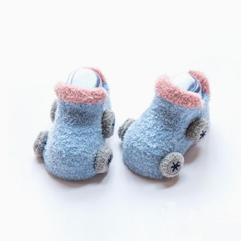 3 pair baby anti slip socks for girls newborn boys winter warm cute socks children christmas gift novelty gifts for new year