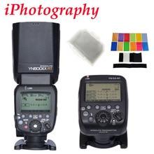 YONGNUO YN600EX-RT 2.4กรัมไร้สายไฮสปีดโทแฟลชสำหรับCanonกล้องเป็น600EX-RT + YN-E3-RT TTLแฟลชทริกเกอร์+กรอง+ d iffuser