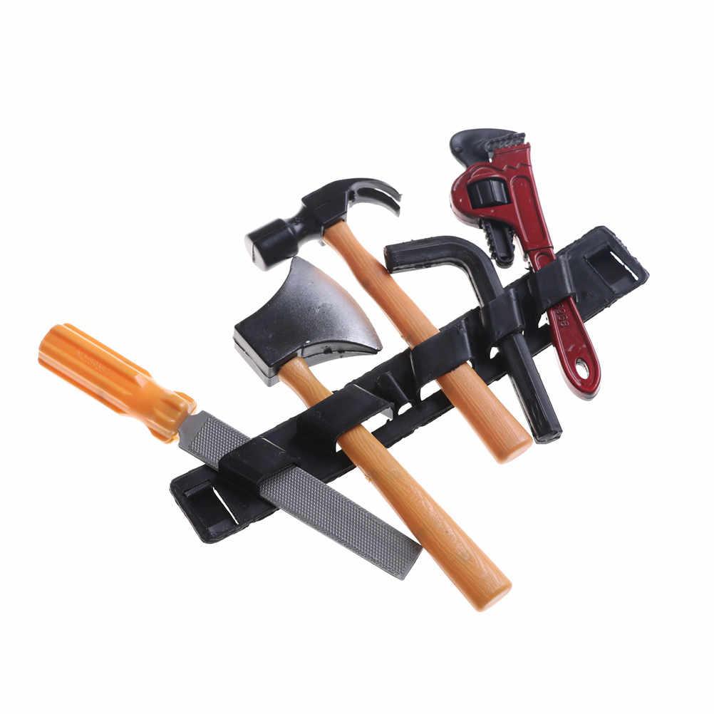 14 шт./компл. Пластик образовательное строительство игрушка инструмент Наборы набор «сделай сам» для Классический Мальчик Строительный инструмент для ремонта игрушки