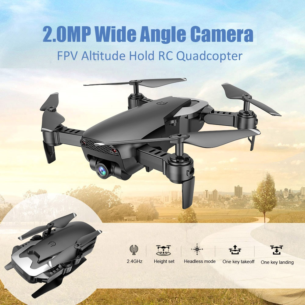 Teeggi M69 Fpv Drone With 720p Wide-angle Wifi Camera Hd Foldable Rc Mini Quadcopter Helicopter Vs Visuo Xs809hw E58 X12 Dron #3