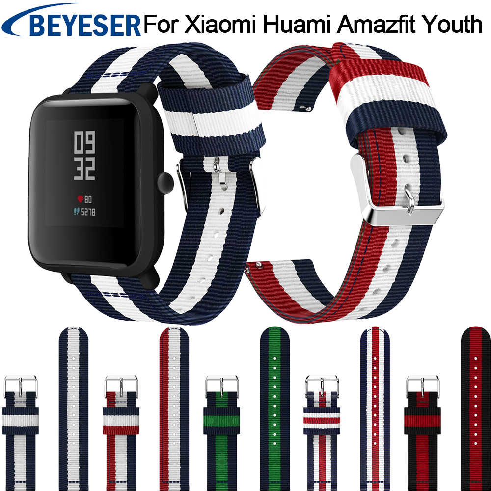 Sport Strap for Amazfit Bip Replacement Strap Band For Xiaomi Amazfit Wrist Band Straps For Huami Amazfit Bip Wristband Bracelet