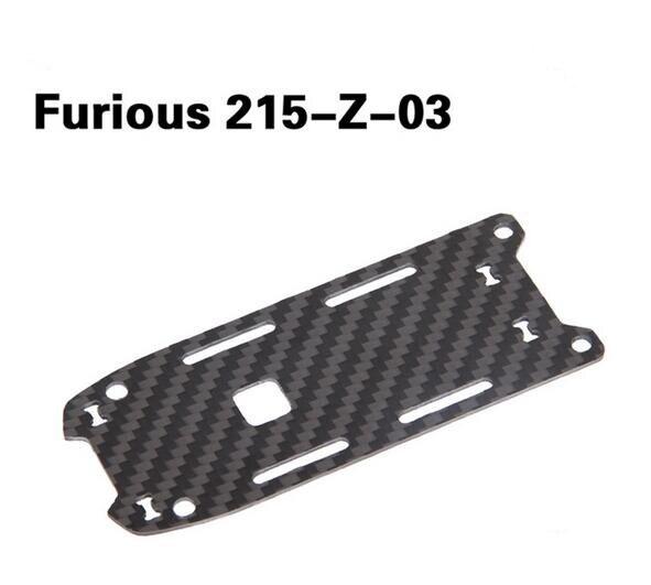 Walkera Furious 215 Z 03 Battery Fixing Plate Carbon Fiber Board for Walkera Furious 215 FPV