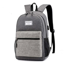 Men Backpack Waterproof USB charging School Bags For Girls Canvas Travel Laptop female backpack bag Computer backpack outdoor diomo school bag stripes canvas backpack schoolbags stylish students school backpack for girls travel bags usb charging port