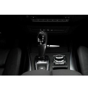 1pc autocollant de changement de vitesse ABS accessoire de décoration de couverture pour BMW E70 E71 2008-2013 remplacement pratique