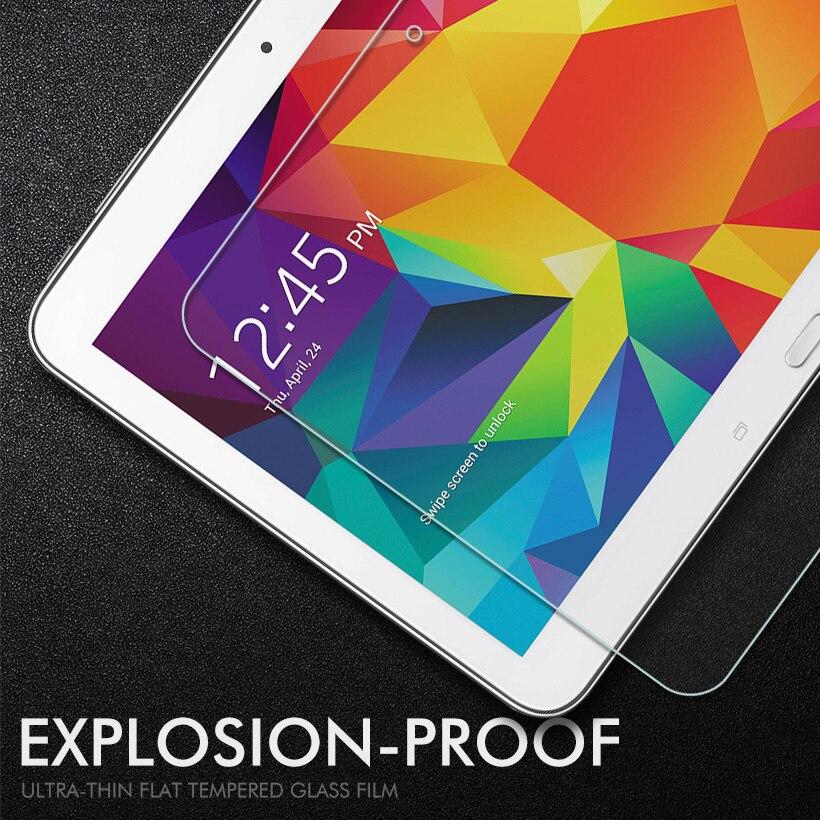 4 Vidro temperado Para Samsung Galaxy Tab 10.1 LTE SM T530 T531 T535 T533 Filme Protetor Protetor de Tela de 10.1 polegada