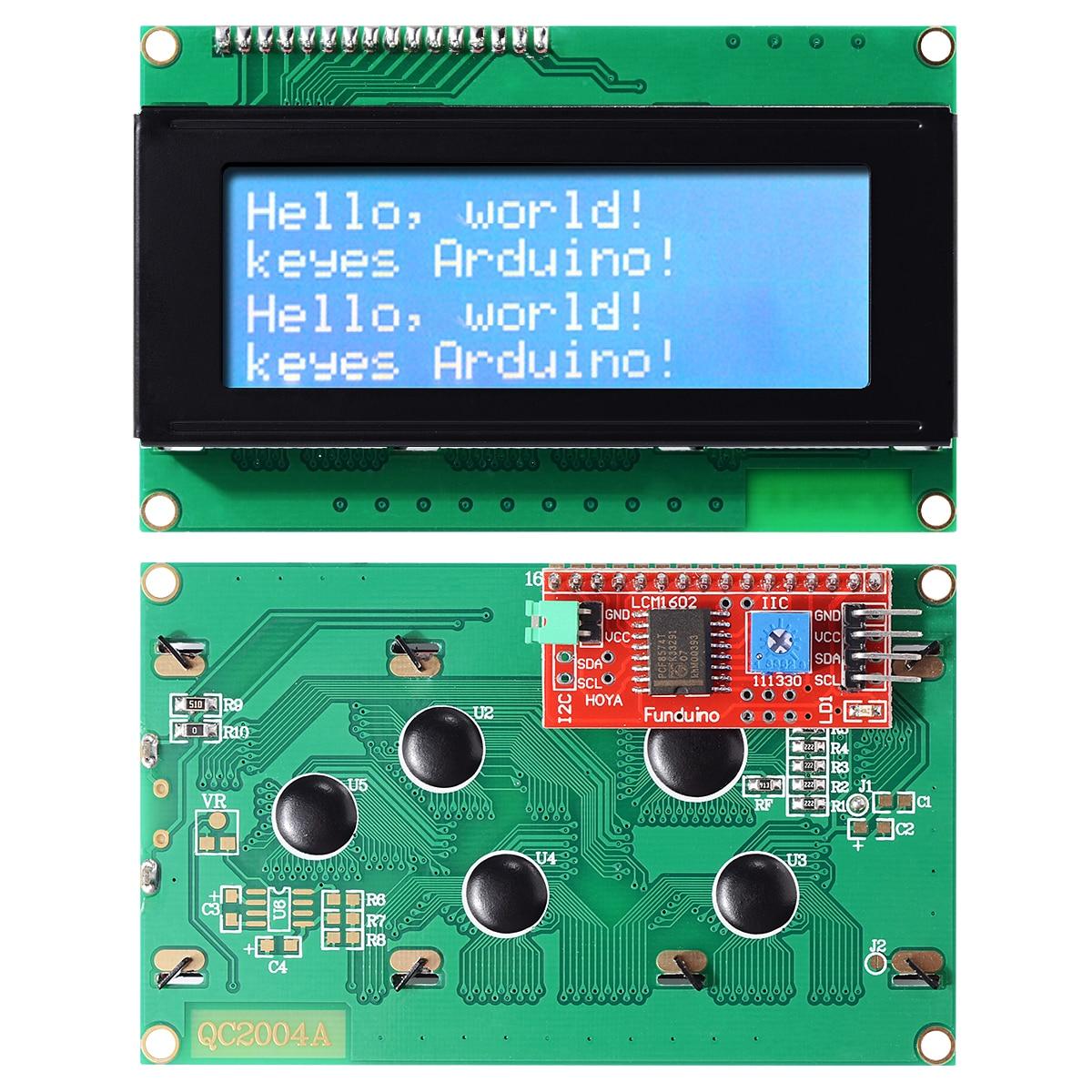 Serial Interface TWI//IIC//I2C 2004 20x4 Character LCD Display Module for Arduino