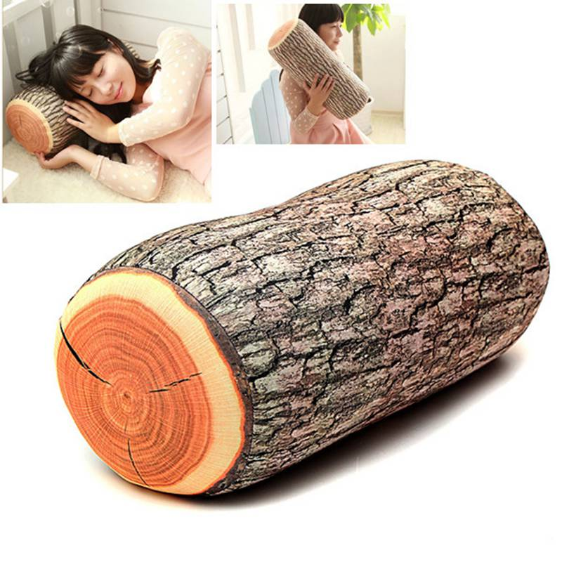 Comfortable Wood Shape Portable Baby Adult Pillow Neck Support Safe Soft Camping Travelling Car Prevent Flat Head Cushion Pad