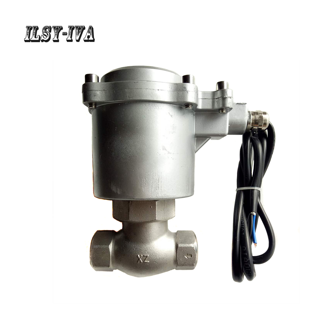 AC110V/AC220V Explosion proof type stainless steel electromagnetic valve for micro methane combustion machine