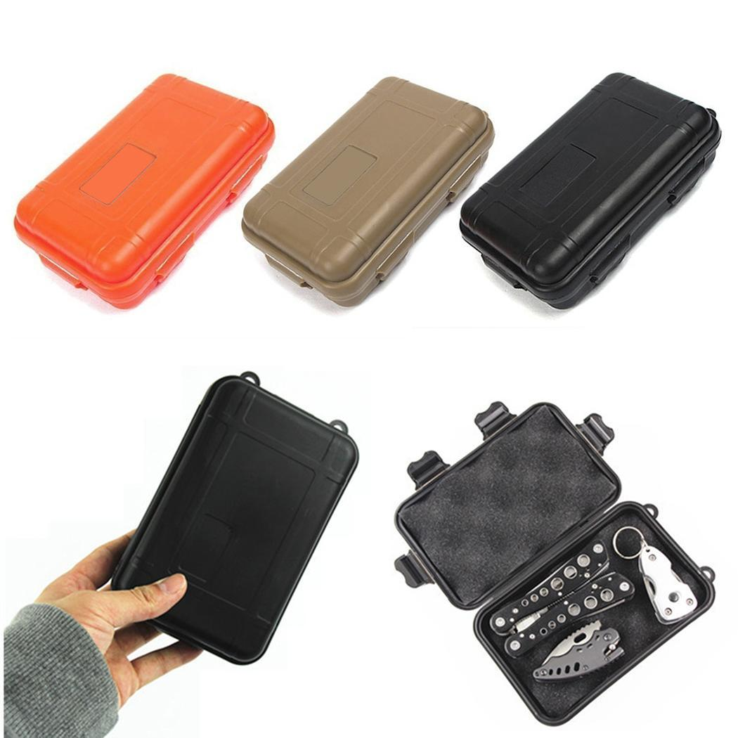 Outdoor Survival Airtight Case Holder Shockproof Waterproof Boxes Tool Box For Storage Tools Matches EDC Travel Sealed Container