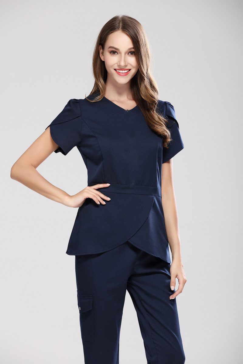 Fashion Slim Fit Women Medical Scrub Sets Hospital Uniform Surgical Clothing Pet Hospital Care Overalls Beauty Salon Workwear Back To Search Resultsnovelty & Special Use