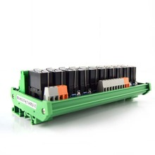 10-way power relay module F1A024V8 foot dual module, compatible with NPN/PNP