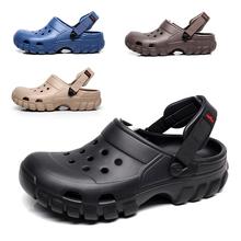 2018 Summer Men's Garden Clogs Slippers EVA Casual Fashion Beach Sandals For Men, Mens Lightly Slipper Mule Clog