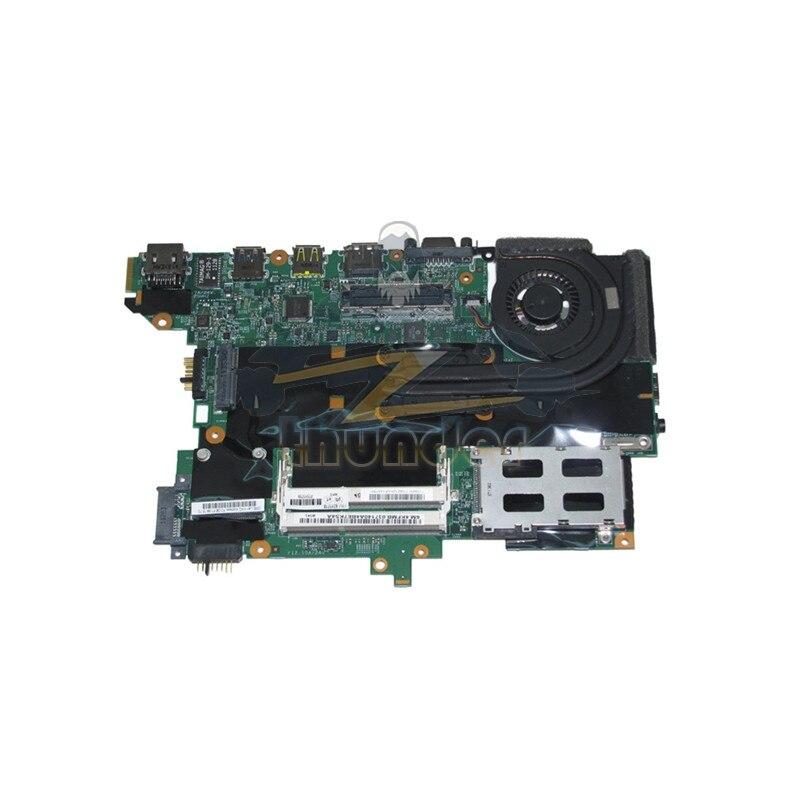 63Y1718 63Y1914 For Lenovo thinkpad T420s laptop motherboard i5-2520M CPU 48.4KF58.041 GMA HD3000 DDR3 laptop motherboard for lenovo ideapad b570 z570 11s11013533 48 4pa01 021 hm65 gma hd3000 ddr3