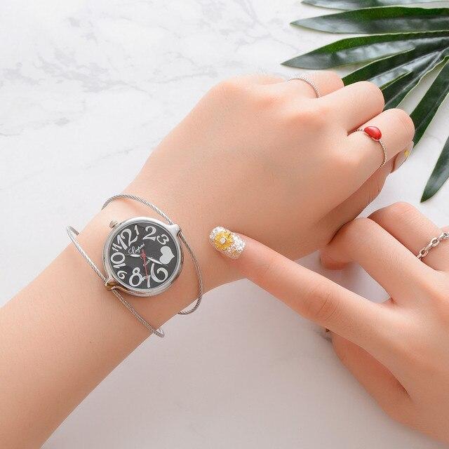 Moment # N03 DROPSHIP relogio 2018 Elegant Women's Watches Quartz Bracelet Watch