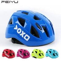 Kind Fahrrad Helm PC + EPS Integral-form Atmungsaktive Kinder Radfahren Helm Straße Mountainbike MTB Helm Größe S/M