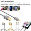 Цена завода Binmer V8 3A Плетеные Алюминиевый Данные Micro Usb и Синхронизации быстрее Зарядное Устройство Кабель Для Samsung Galaxy S7 edge Sept30