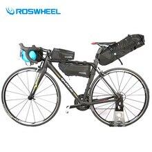 Santa Claus Roswheel Bike Bag 4PCS 2017 Bicycle Saddle Bag Full Waterproof MTB Road Cycling Rear Bag Cycle Tail Seat Pannier Accessories