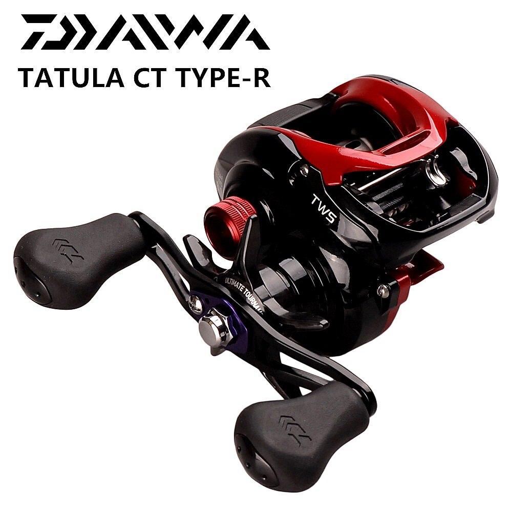 DAIWA TATULA CT TYPE-R dos secciones de carrete de la pesca 8BB 7,3: 1/8 1:1 100HS 100HSL 100XS 100XSL cebo carrete de TWS de bajo perfil