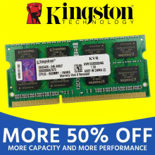 Kingston portátil RAM DDR2 800 667Mhz PC2-5300S pc2 5300 DDR3 1333 1600Mhz 1GB 1G 2GB 2G 4GB 4G (2 piezas * 2 GB) PC3 10600(China)