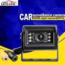 1/3 Sony CCD Автомобиля Парковочная Камера AVI/AV/BNC Водонепроницаемый Заднего Вида Автомобиля Камера С ИК Ночного Видения заднего вида Автомобиля Резервное Копирование Камеры