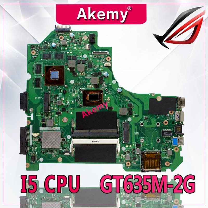 Akemy K56CM Laptop anakart para ASUS K56CM K56CB K56C S550CM S550C Teste anakart orijinal I5 CPU GT635M-2GAkemy K56CM Laptop anakart para ASUS K56CM K56CB K56C S550CM S550C Teste anakart orijinal I5 CPU GT635M-2G