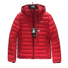 2019 High Quality Men Winter Jacket Fashion Red Cotton Puffer Bio-based Mens Coat Brand Hooded