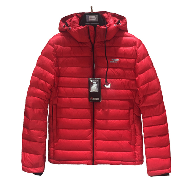 6f38babffcca Aliexpress.com : Buy 2019 High Quality Men Winter Jacket Fashion Red Cotton  Jacket Puffer Jacket Bio based Cotton Mens Winter Coat Brand Hooded Coat  from ...