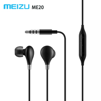 Meizu Me20 Earphone With Remote Mic Hifi Stereo Sound Earpods For Female Voice Sopran Best For