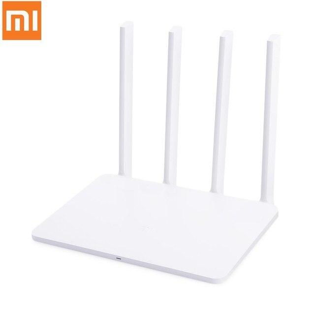 Original Xiaomi mi Router WiFi 3G 1167 Mbps 2,4 GHz 5 GHz doble banda 128 MB ROM Wi-Fi 802.11ac cuatro potentes antenas de gran ganancia