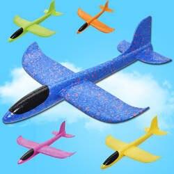 Большой 35 см дети игрушечные лошадки ручной пледы самолет Летающий планер самолеты EPP самолет из пеноматериала вечерние наполнители