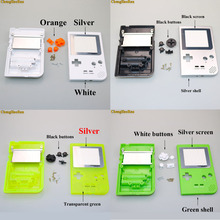 лучшая цена 1Set For GBP Shell Case with Buttons Kit Full Case Cover Housing Shell Replacement for Gameboy Pocket Game Console Housing