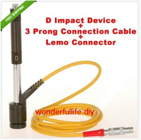 D Impact Device+3 Prong Cable +LEMO Connector for Leeb Hardness Tester
